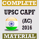 UPSC CAPF (AC) Exam 2016 by Find Job Alert