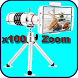 Super zoom camera ,HD360x Zoom by apps.com