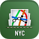 New York Subway Map + Bus, LIRR, Metro North (MTA)