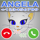 A Fake Call From Talking Cat Angela Prank by Delidev