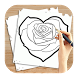 How to Draw Love Hearts by Zombie-Snow