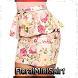 Floral Mini Skirt by Magicoss