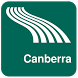 Canberra Map offline by iniCall.com