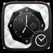 Black and White Go Clock Theme