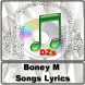 Boney M Songs Lyrics by DZS APPS