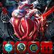 Super hero iron theme Red technology by Hu Guangyu