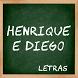 Henrique e Diego Letras by SandMedia Cirebon