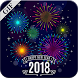 New Year 2018 Gif by Sky Photo Editor