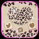 Diamond leopard love Theme gold leopard print by Beauty Die Marker