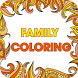 Family Coloring-Adults & Kids by Coloring Free Fun Games For Kids and Adults