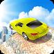 Sports car stunt race challenge