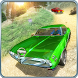 Offroad Classic American Muscle Cars Driving by Wallfish Inc.