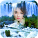 Waterfall Multi Collages Photo Frame–HD Background by Live Local and Travel