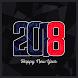 أروع رسائل تهنئة رأس السنة 2018 by WellApps