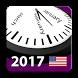 2017 US Holiday Calendar by Rhappsody Technologies