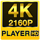 4K QUADHD Video Player (4K super QHD) by thehelpfultech