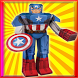 Super Hero - papercraft puzzle by Cholada