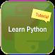 Python Tutorial by Srinivas Nidadavolu