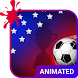 Soccer Cup Animated Keyboard by Wave Design Studio
