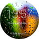 Rain Drops Lock Screen by Richard Harison