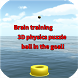 Brain training 3D physics puzzle ball in the goal! by マイスターソフト ShowGames