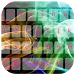 Colored Ink Drop Keyboard Free
