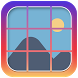 9 Cut Square for InstaGrids : Insta Tile Maker
