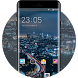 Theme for Videocon V1654 Cityscape Wallpaper by Theme Guru