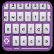Purple Apple SMART KEYBOARD by manlaju