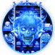 Blue Fire Skull Theme by Ahl ar-ray solutions pvt ltd