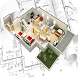3D House Plans - 4 Bedroom by Easy Style Design App