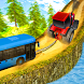 Chained Tractor Towing Bus by Grace Games Studio