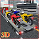 Bike Transport Truck 3D by Digital Royal Studio
