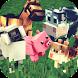 Animals Craft: Block World Exploration & Design by Fat Lion Games: Crafting & Building Adventure