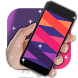 Lattice shiny stripe by live wallpaper collection