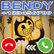 A Fake Call From Bendy and The Ink Machine Prank by Delidev