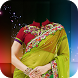 Women Saree Photo Frames by AppMaker Inc