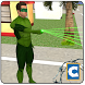 Green Ring Hero Crime Battle by Clans