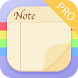 Notepad:Sticky Notes&Memo Pro by M.T Player