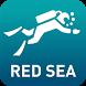 Red Sea Scuba by Ocean Maps by Ocean Maps GmbH.