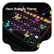 Neon Butterfly -Kitty Keyboard by Kitty Emoji Keyboard Design
