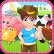 Farm little boy by bxapps Studio