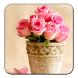 Pink Roses Live Wallpaper by Blue Star Team