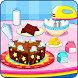 Cooking chocolate cake by LPRA STUDIO