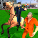 Offroad Police Horse Gangster Chase: City Cop Duty