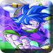 Dragon Goku super saiyan fight