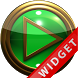 Poweramp Widget Green Gold by Maystarwerk Skins & Widgets Vol.1