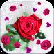 Rose Moving Wallpaper Glitter