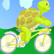 Turtle ride bike adventure