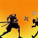 Samurai VS Ninja by James Bellamy